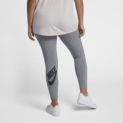 Nike Große Größe Sportswear Leg a see Damen hoodie Grau from Nike on 21 Buttons