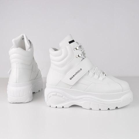 Rubye - High-top Chunky Sneakers In