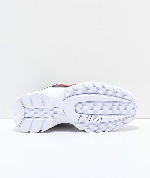 Disruptor Ii Logo Taping White Shoes