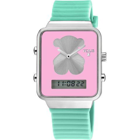 Reloj Digital I-bear De Acero Con Correa De Silicona Verde de Tous en 21 Buttons