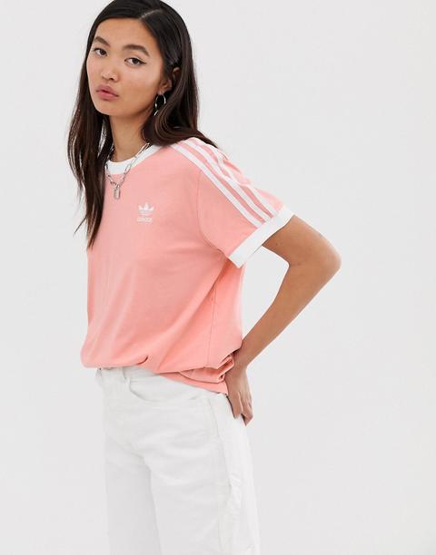 adidas nere strisce rosa