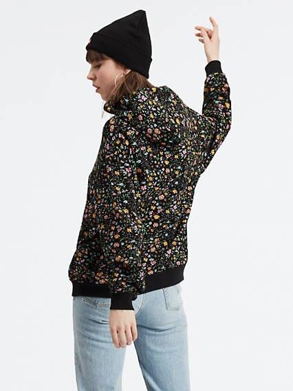 Unbasic Hoodie Multicolor / Floral Meteorite