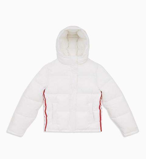 Chaqueta De Plumas Con Logo de Calvin Klein en 21 Buttons
