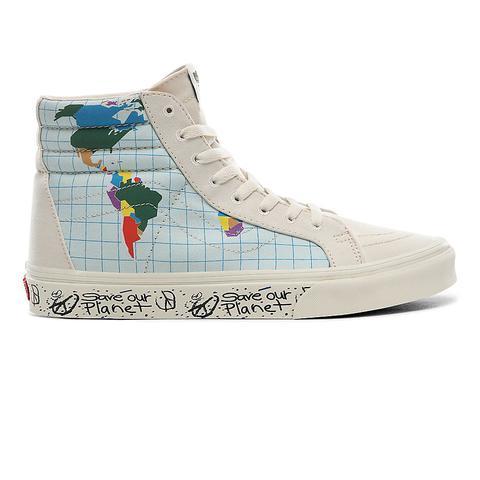 Vans Zapatillas Sk8-hi Reissue De La Colección Save Our Planet X Vans ((save Our Planet) Classic White/multi) Mujer Multicolour de Vans en 21 Buttons