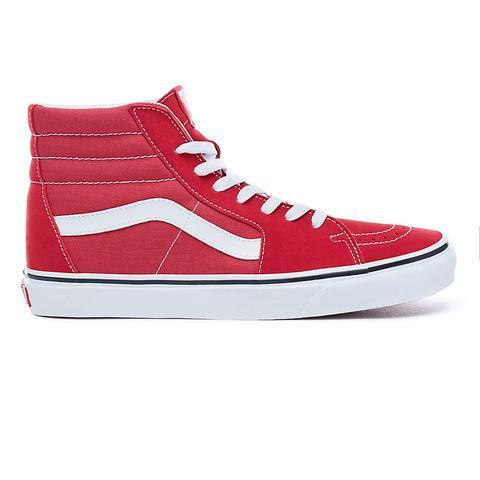 Vans Zapatillas Sk8-hi (crimson-true White) Hombre Rojo