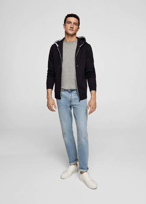 Jeans Bob Straight-fit Lavado Claro