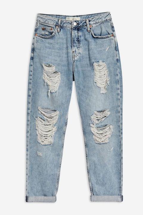 Bleach Super Ripped Hayden Boyfriend Jeans