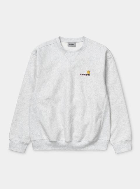American Script Sweatshirt de Carhartt WIP en 21 Buttons