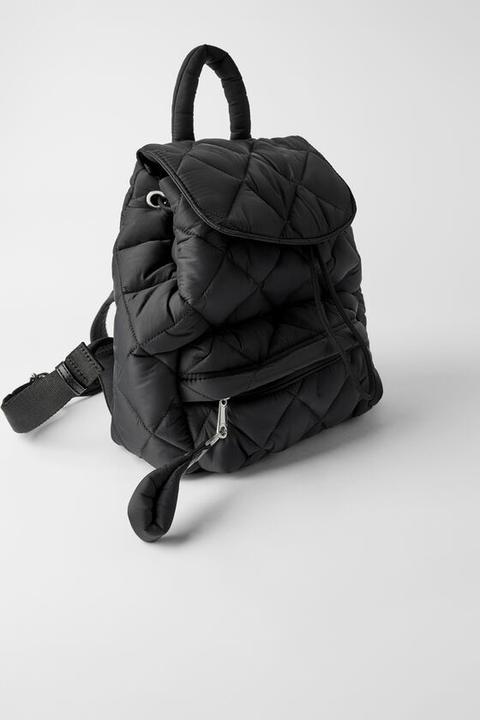 Gesteppter Rucksack from Zara on 21 Buttons