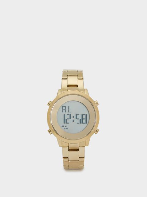 Reloj Digital Correa De Acero