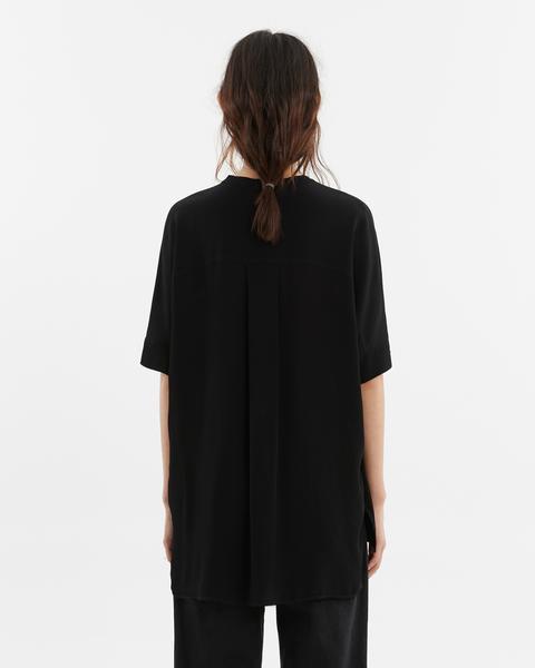 Blusa Fluida Negra