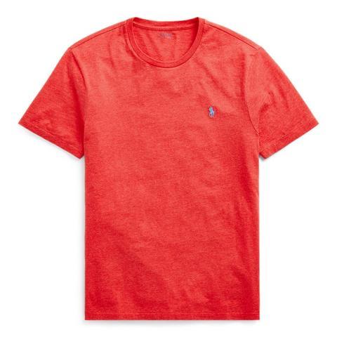 Camiseta Classic Fit Con Cuello Redondo