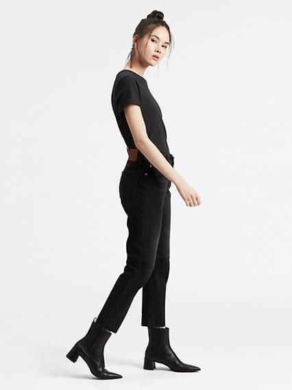 501® Crop Jeans Negro / Black Heart