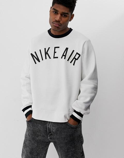 Nike Air Logo Sweatshirt White from