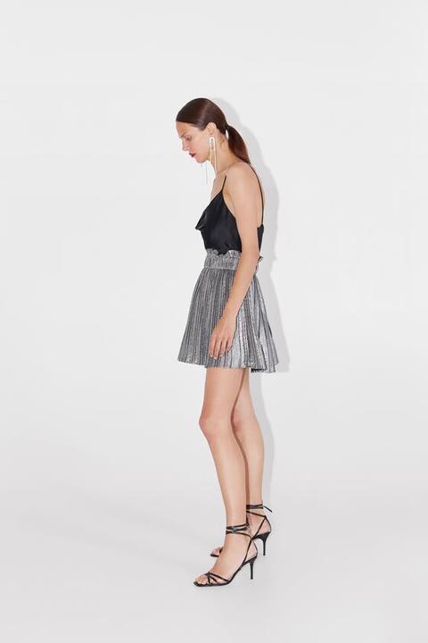 design di qualità e43ad 43f46 Minigonna Plissettata from Zara on 21 Buttons