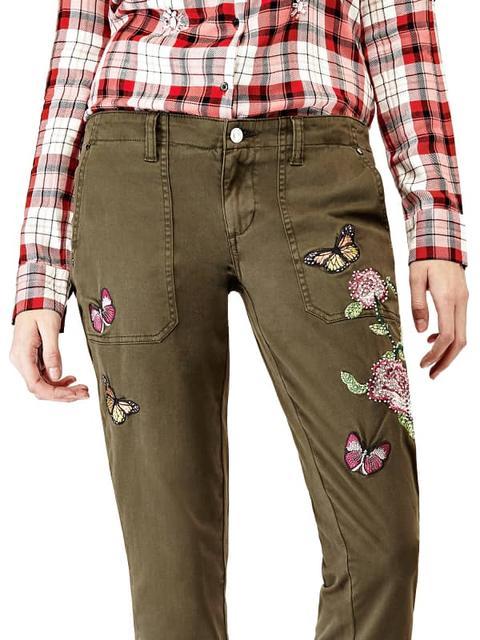 Pantalones Chinos Bordados de Guess en 21 Buttons