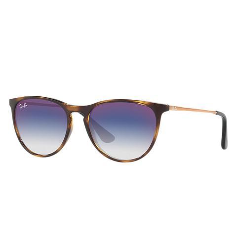 Izzy Unisex Sunglasses Lentes: Azul, Montura: Bronce de Ray-Ban en 21 Buttons