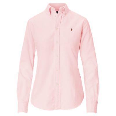 Custom Fit Cotton Oxford Shirt from Ralph Lauren on 21 Buttons