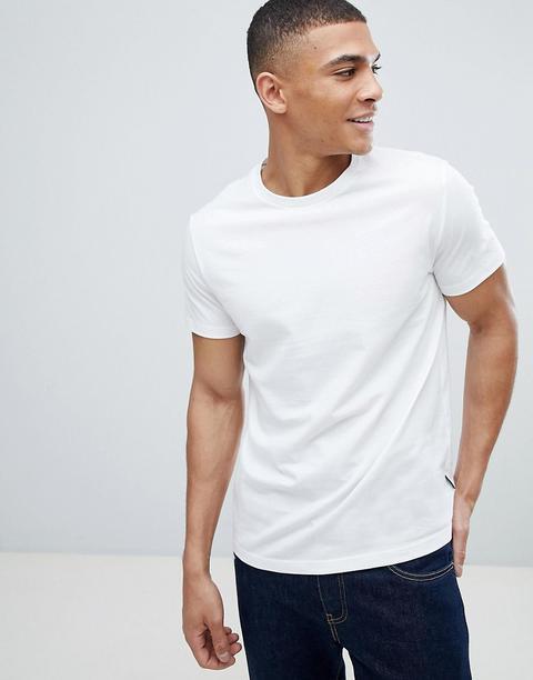 Burton Menswear Regular Fit T-shirt In White