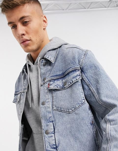 Levi's Trucker Denim Jacket-blue