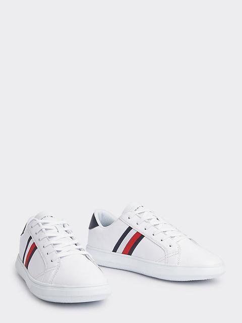 San Francisco cbac3 dacdb Sneakers Basse In Pelle Con Dettaglio Bandierina from Tommy ...