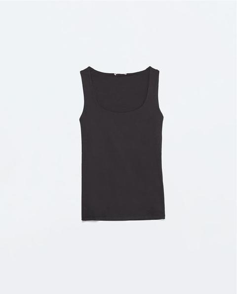 Camiseta Elástica Tirante Ancho