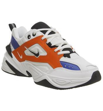 Nike M2k Tekno Summit White Orange F