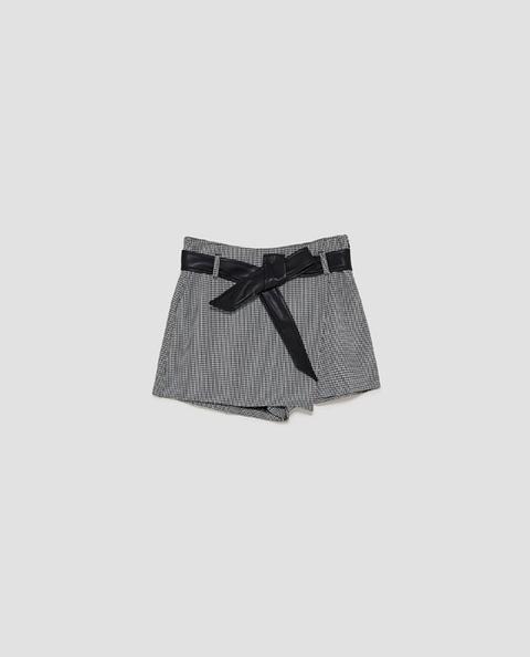 Falda Pantalón Cinturón