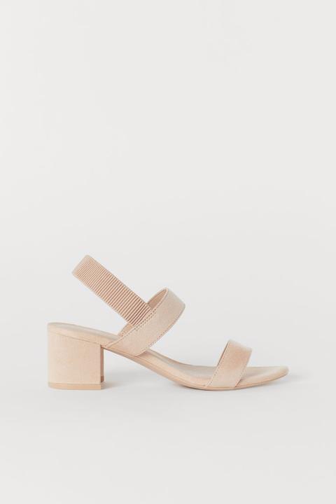 Sandaletten Orange Damen from H&M on 21 Buttons