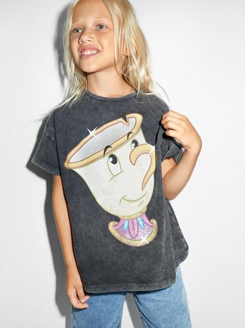 Camiseta La Bella Y La Bestia © Disney