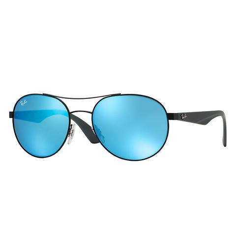 Rb3536 Unisex Sunglasses Lentes: Azul, Montura: Gris