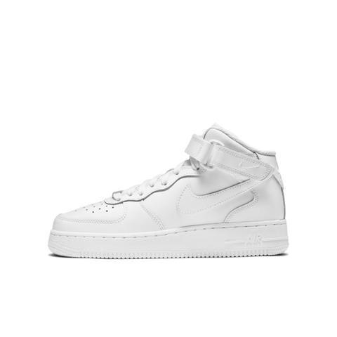 Nike Air Force 1 Mid Le Zapatillas - Niño/a - Blanco