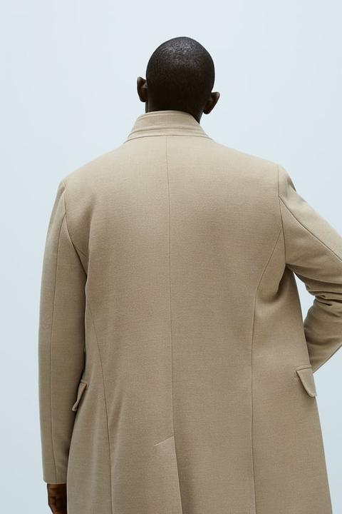 Abrigo Cuello Combinado