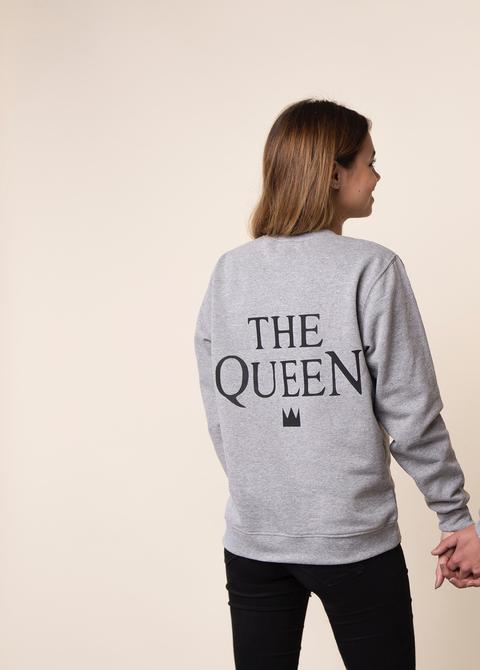 Sudadera The Queen de Posturopa en 21 Buttons
