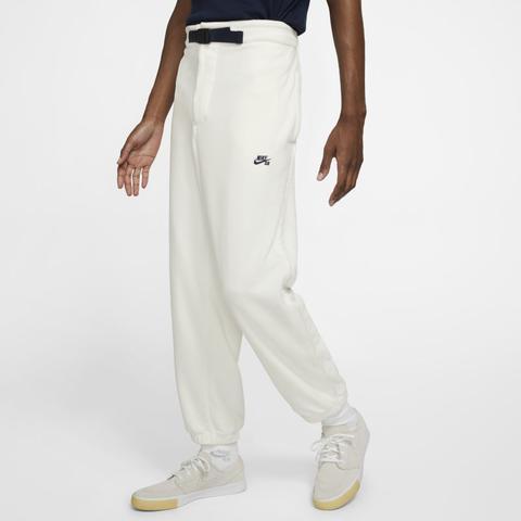 Pantalon De Skateboard En Tissu Fleece Nike Sb - Blanc from Nike ...