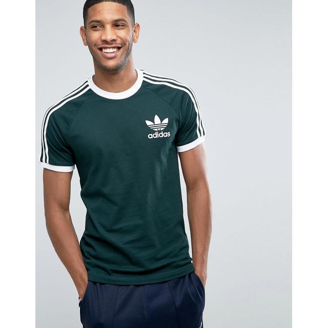 muy Paciencia Orgulloso  Camiseta Verde California Bq7559 De Adidas Originals from ASOS on 21 Buttons
