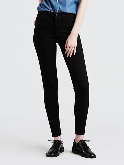 310™ Shaping Super Skinny Jeans Negro / Black Galaxy
