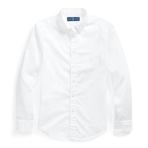 Camisa De Sarga De Algodón de Ralph Lauren en 21 Buttons
