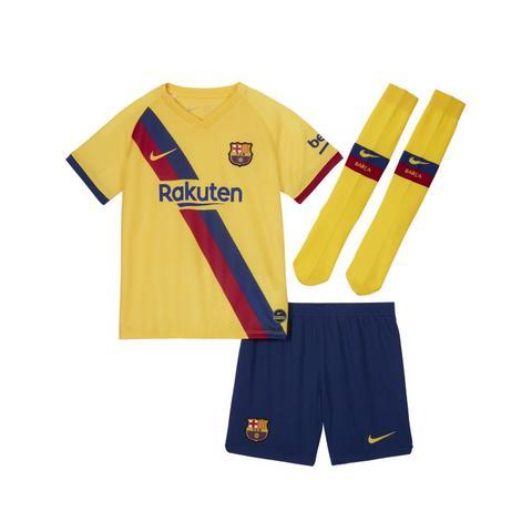 Fc Barcelona Away Equipación - Niño/a Pequeño/a - Amarillo de Nike en 21 Buttons