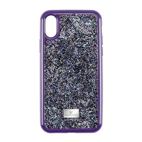 Custodia Per Smartphone Con Bordi Protettivi Glam Rock, Iphone® X/xs, Viola from SWAROVSKI on 21 Buttons