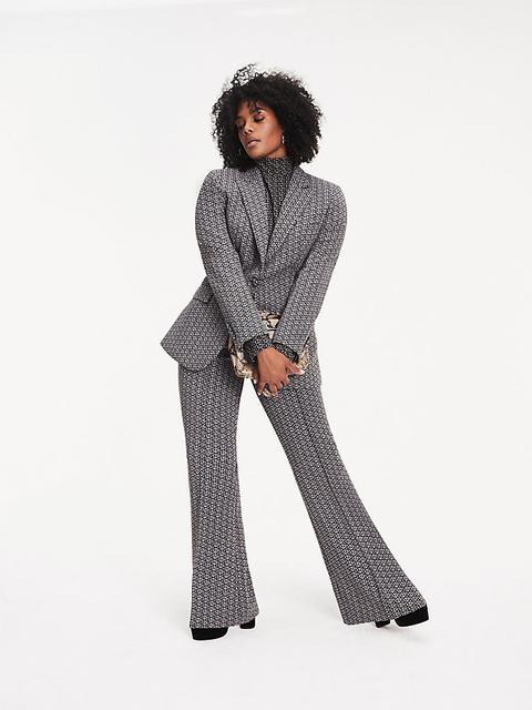 Pantalón Zendaya Curve Con Estampado De Monogramas de Tommy Hilfiger en 21 Buttons