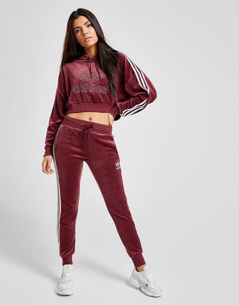 womens adidas burgundy tracksuit buy