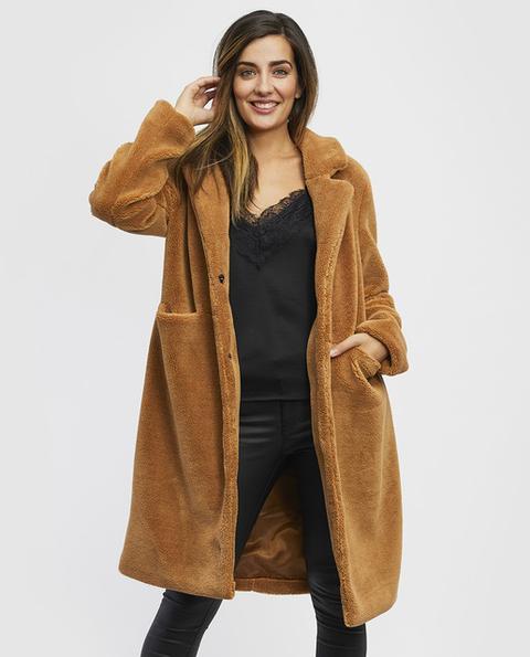 Vero Moda - Abrigo Teddy De Mujer Con Solapa de El Corte Ingles en 21 Buttons