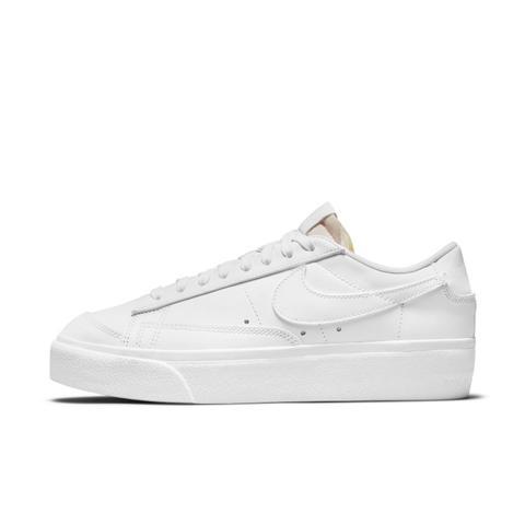 Nike Blazer Low Platform Zapatillas - Mujer - Blanco