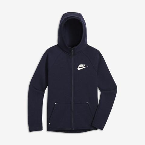 Nike Sportswear Tech Fleece Jacke Mit Durchgehendem