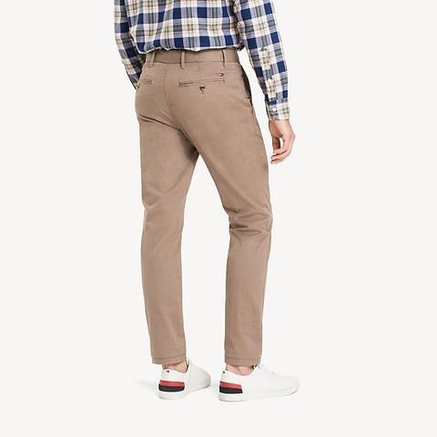 Pantalones Chinos De Sarga De Algodón Orgánico