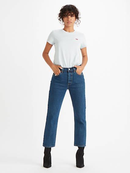 501® Crop Jeans Azul / Charleston Vision de Levi's en 21 Buttons