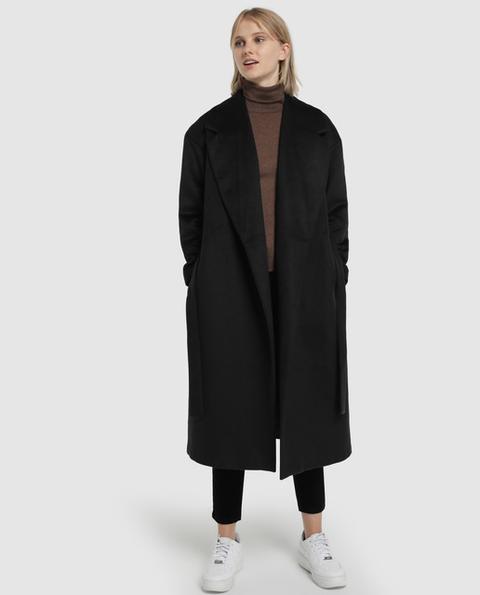 Easy Wear - Abrigo De Mujer Largo Con Cinturón de Easy Wear en 21 Buttons