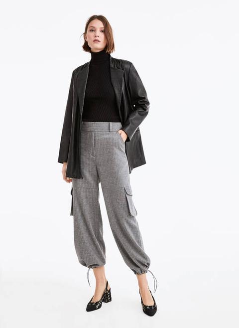 Pantalons De Butxaques Franel·la