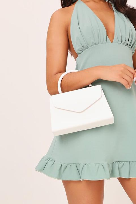 Structured Envelope Handbag